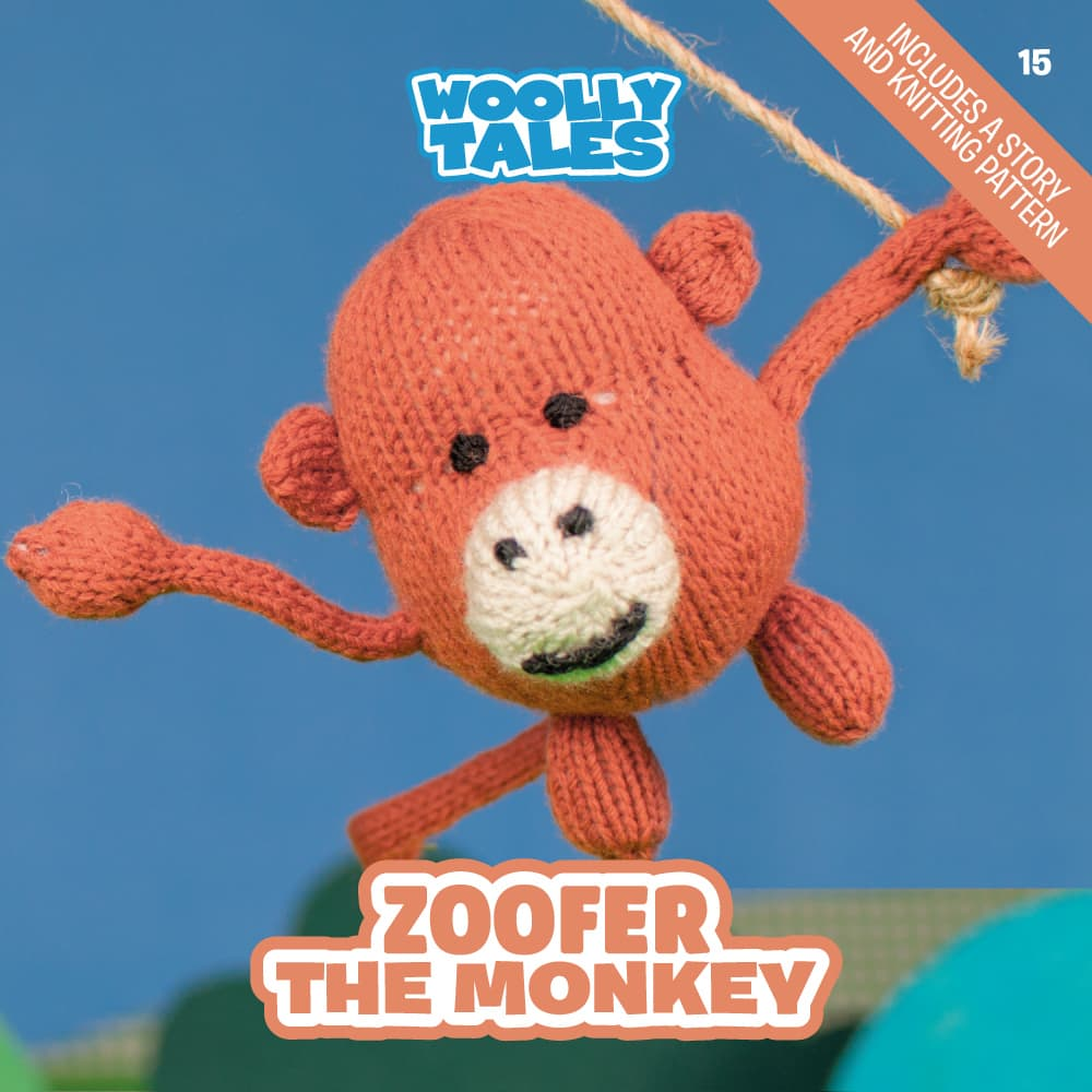 Woolly Tales - Zoofer the Monkey