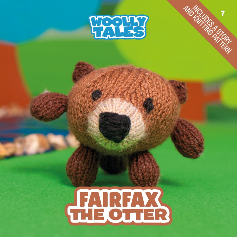Woolly Tales - Fairfax the Otter