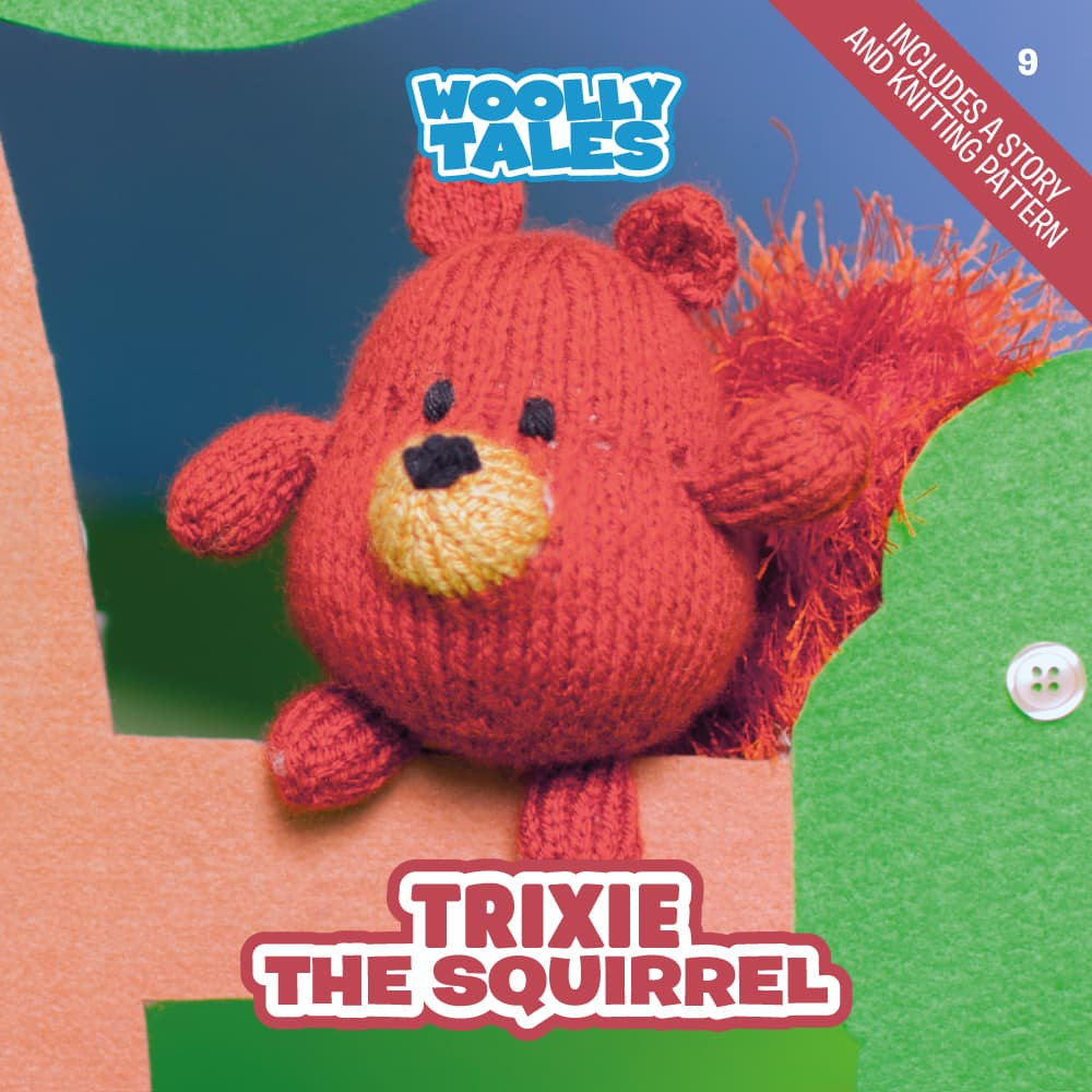 Woolly Tales - Trixie the Squirrel