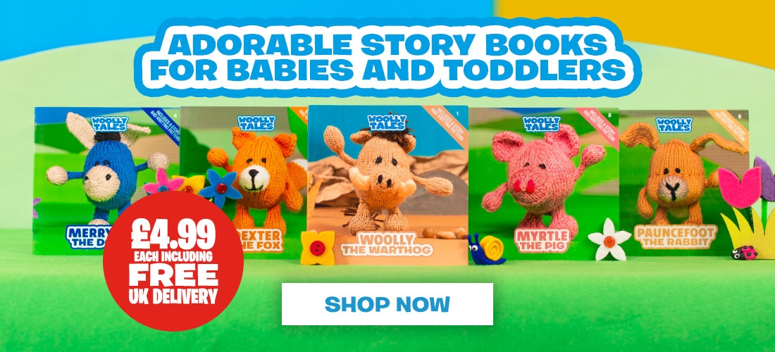 Woolly Tales - Woolly Tales Picture books Header Image